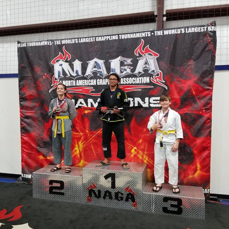North American Grappling Association - McCall Mixed Martial Arts 1st place